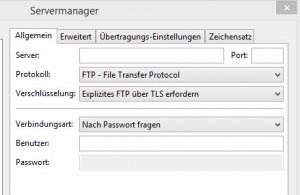 Explizites FTP über TLS